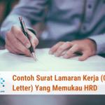Artikel Contoh CV (Curriculum Vitae) Sederhana Yang Disukai HRD