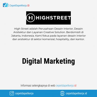 Loker Digital Marketing – High Street
