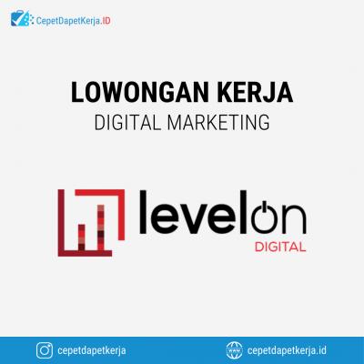 Loker Website Developer, Graphic Designer, Online Specialist, Social Media Specialist, Dll – Levelon Digital Agency