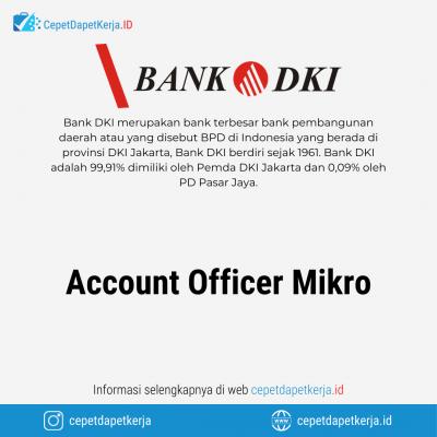 Loker Account Officer Mikro – Bank DKI