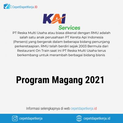 Loker Program Magang 2021 – PT. Reksa Multi Usaha