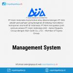 Lowongan Kerja Management System - PT. Aisin Indonesia Automotive