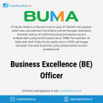 Lowongan Kerja Business Excellence (BE) Officer - PT. Bukit Makmur Mandiri Utama